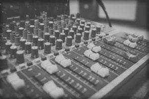 MC Productions header home image sound equipment