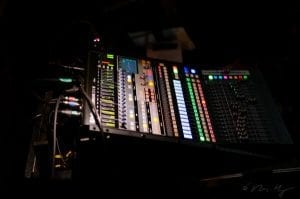 MC Productions equipment - PreSonus, lit up