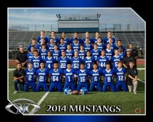 Mountain House High School football team 2014