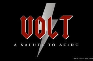 Volt - A Salute to AC/DC - production in Mountain House by MC Productions
